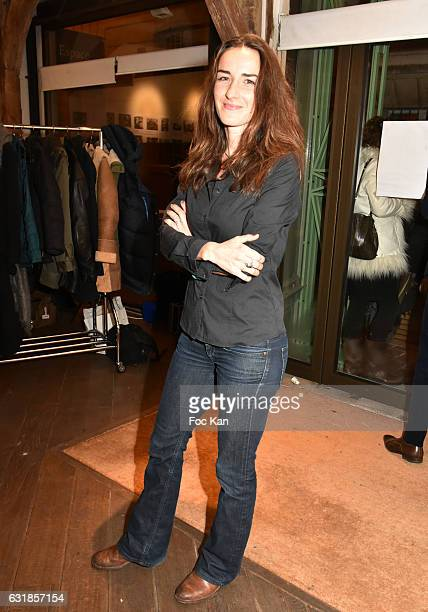 Actress Salome Stevenin attends 'Sylvie A Saint Tropez' Sylvie Bourgeois Harel Book Signing at Librairie Des Femmes on January 16 2017 in Paris France