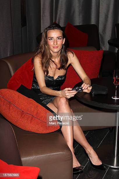 Actress Salome Stevenin attends the Christophe Guillarme Luggage Line Launch Cocktail at Hotel Renaissance on January 22 2012 in Paris France