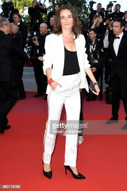 Actress Salome Stevenin attends the Closing Ceremony screening of The Man Who Killed Don Quixote during the 71st annual Cannes Film Festival at...