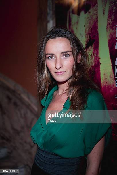 Actress Salome Stevenin attends the Paris International Fantastic Film Festival at Cinema Gaumont Opera on November 23 2011 in Paris France