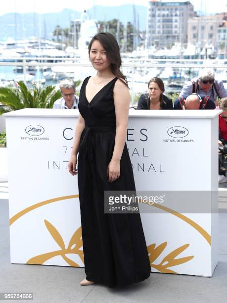 Actress Samal Yeslyamova attends Ayka Photocall during the 71st annual Cannes Film Festival at Palais des Festivals on May 18 2018 in Cannes France