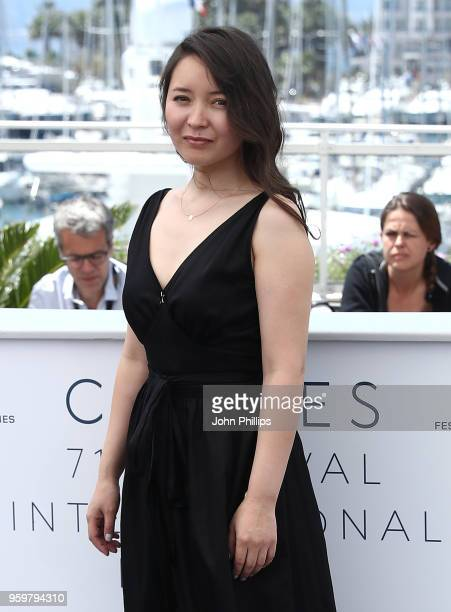 Actress Samal Yeslyamova attends 'Ayka ' Photocall during the 71st annual Cannes Film Festival at Palais des Festivals on May 18 2018 in Cannes France