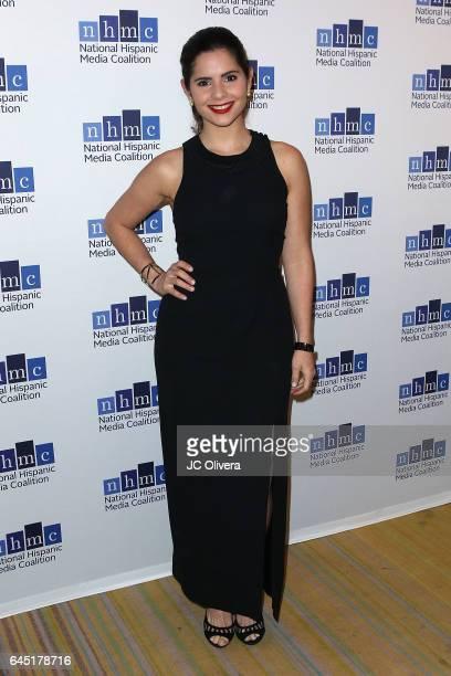 Actress Samantha Dagnino attends the 20th Annual National Hispanic Media Coalition Impact Awards Gala at Regent Beverly Wilshire Hotel on February 24...