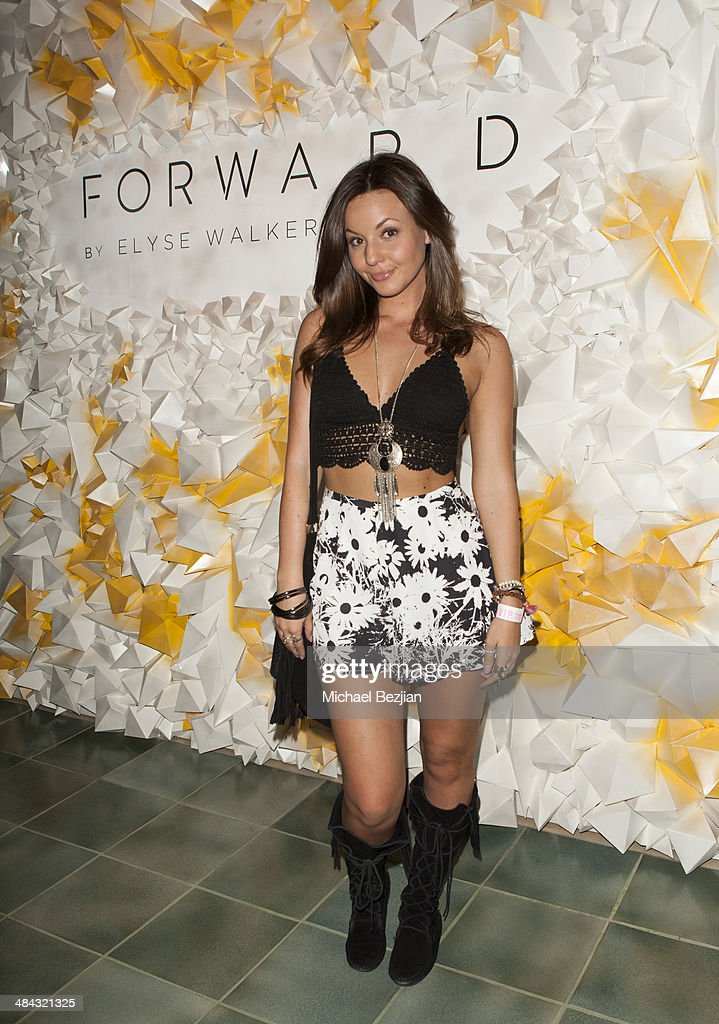 Actress Samantha Droke attends Soho Desert House with Bacardi and Spotify Day 1 on April 11, 2014 in La Quinta, California.