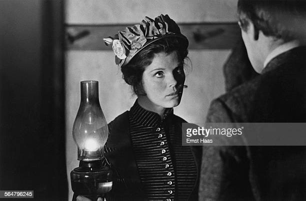 Actress Samantha Eggar stars in the film 'The Molly Maguires' 1970