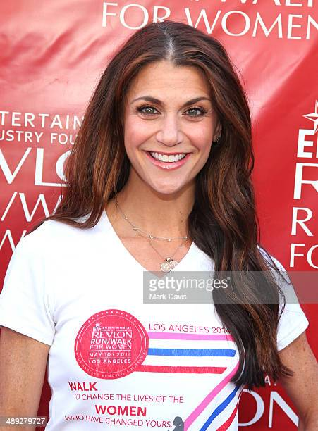 Actress Samantha Harris attends the 21st Annual EIF Revlon Run Walk For Women at Los Angeles Memorial Coliseum on May 10 2014 in Los Angeles...