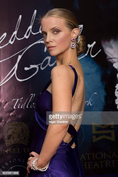 Actress Samantha Hunt attends the Norwegian premiere of Hedda Gabler held at the Vika Cinema on September 08 2016 in Oslo Norway