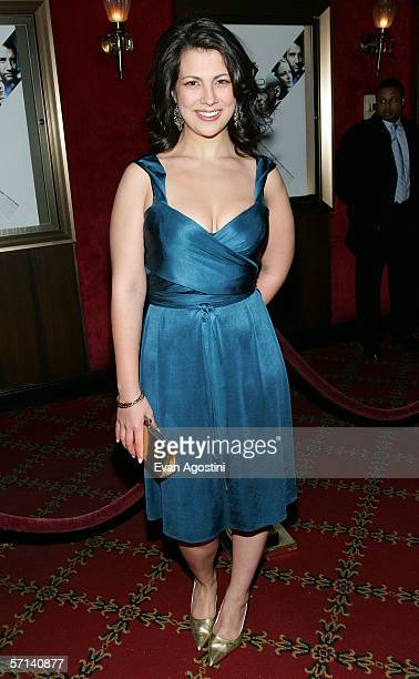 Actress Samantha Ivers attends Universal Pictures' premiere of The Inside Man at the Ziegfeld Theater March 20 2006 in New York City