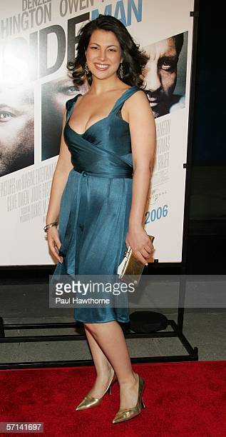 Actress Samantha Ivers attends Universal Pictures premiere of The Inside Man at the Ziegfeld Theater March 20 2006 in New York City