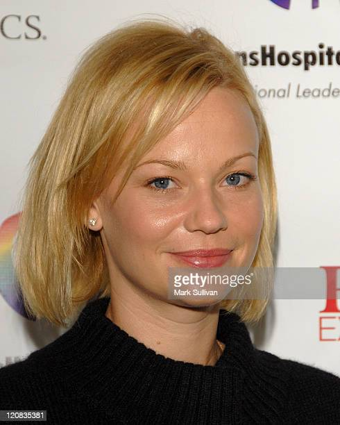 Actress Samantha Mathis attends Day of Beauty for mothers of patients of Childrens Hospital Los Angeles held in Beverly Hills California on September...