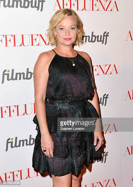 Actress Samantha Mathis attends the 'Affluenza' premiere at SVA Theater on July 9 2014 in New York City
