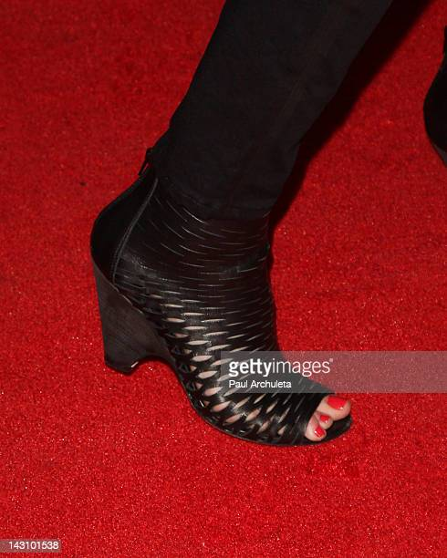 Actress Samantha Mathis attends the Bernie Los Angeles premiere at the ArcLight Cinemas on April 18 2012 in Hollywood California