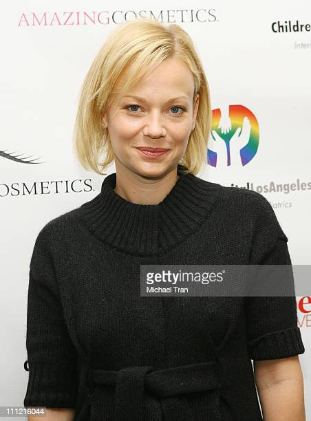 Actress Samantha Mathis attends the Mom's Day of Beauty event at The Beverly Wilshire Hotel on September 26 2007 in Beverly Hills California