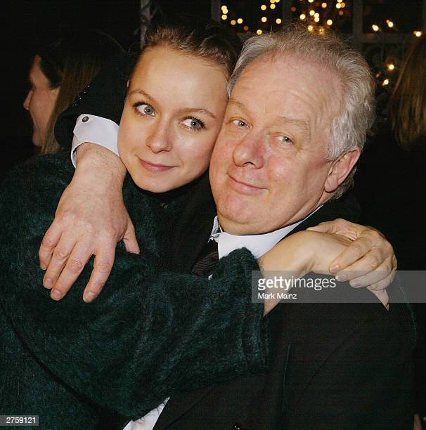 Actress Samantha Morton and director Jim Sheridan attend the after party for the premiere of 'In America' at Cafe St Bart's November 24 2003 in New...