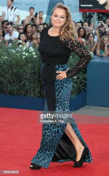 Actress Samantha Morton attends 'The Reluctant Fundamentalist' Premiere and Opening Ceremony of the 69th Venice International Film Festival at...