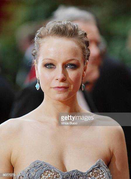 Actress Samantha Morton nominated for Best Actress for her performance in 'In America' attends the 76th Annual Academy Awards at the Kodak Theater on...