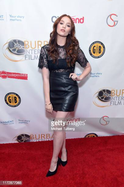 "Actress Samantha Rose Baldwin attends the premiere of ""Relish"" at the Burbank International Film Festival at AMC Burbank 16 on September 06, 2019 in..."