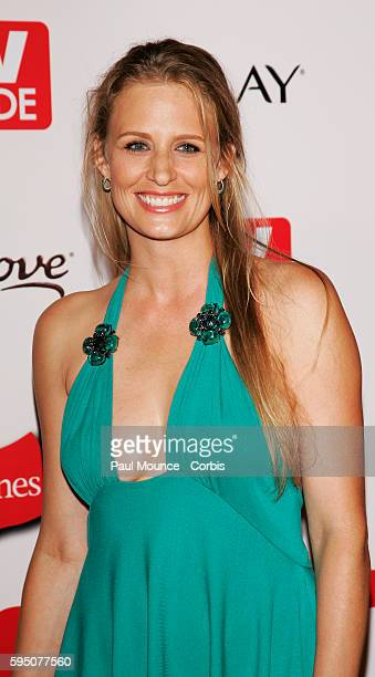 Actress Samantha Smith arrives at the 58th Primetime Emmy Awards TV Guide after party held at Social Hollywood