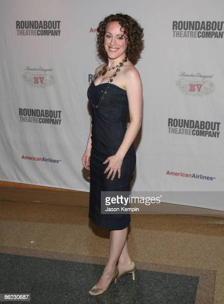 Actress Samantha Soule attends 'The Philanthropist' Broadway opening night party at the Roundabout Theatre Company's American Airlines Theatre on...