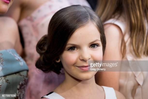 Actress Samara Lee arrives for the Premiere Of New Line Cinema's 'Annabelle Creation' at the TCL Chinese Theatre on August 7 2017 in Hollywood...