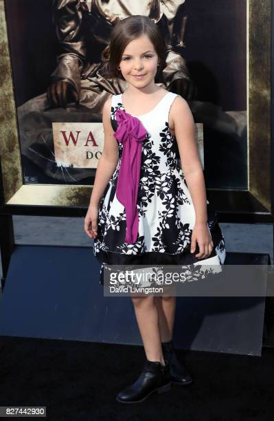 Actress Samara Lee attends the premiere of New Line Cinema's 'Annabelle Creation' at TCL Chinese Theatre on August 7 2017 in Hollywood California