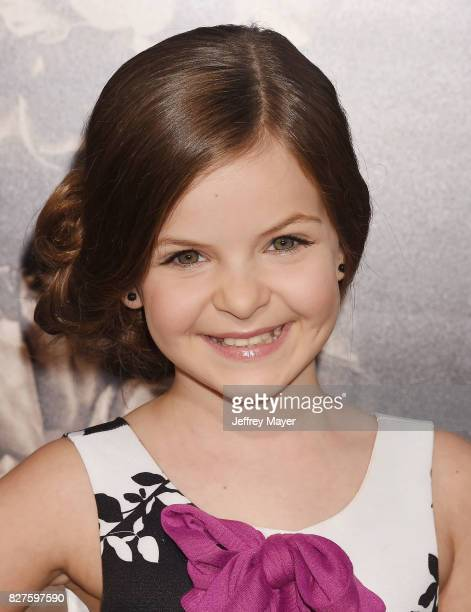 Actress Samara Lee attends the premiere of New Line Cinema's 'Annabelle Creation' at TCL Chinese Theatre IMAX on August 07 2017 in Los Angeles...