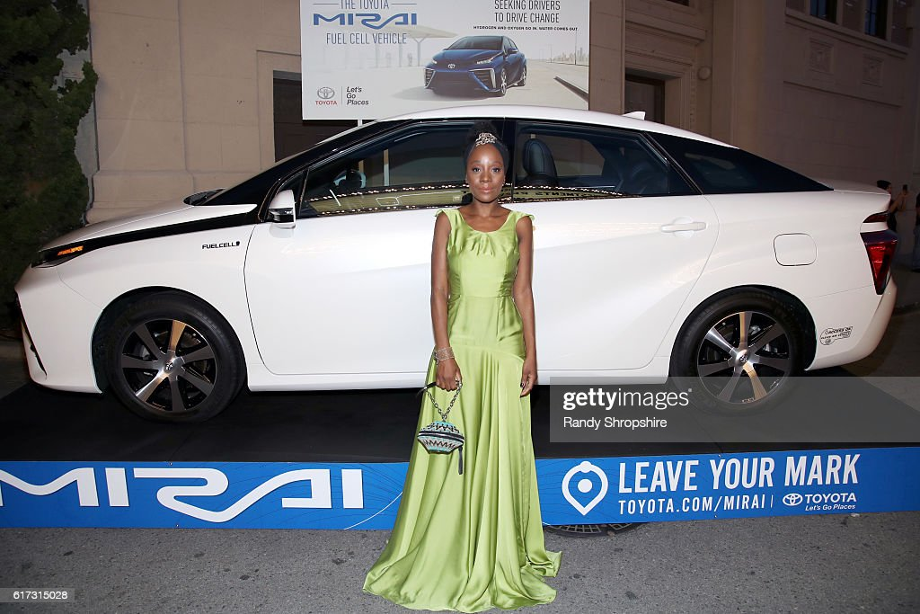 Actress Samata Pattinson attends the Environmental Media Association 26th Annual EMA Awards Presented By Toyota, Lexus And Calvert at Warner Bros. Studios on October 22, 2016 in Burbank, California.