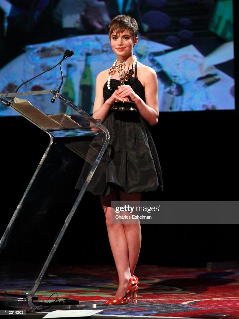 Actress Sami Gayle attends the 55th Annual New York Emmy Awards gala at the Marriott Marquis Times Square on April 1, 2012 in New York City.