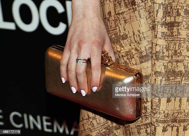 """Actress Sami Gayle attends the A24 and The Cinema Society premiere of """"Locke"""" at The Paley Center for Media on April 22, 2014 in New York City."""