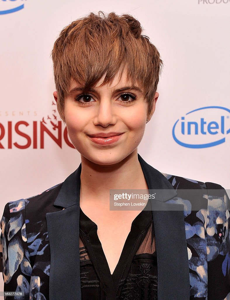 Actress Sami Gayle attends the 'Girl Rising' premiere at The Paris Theatre on March 6, 2013 in New York City.
