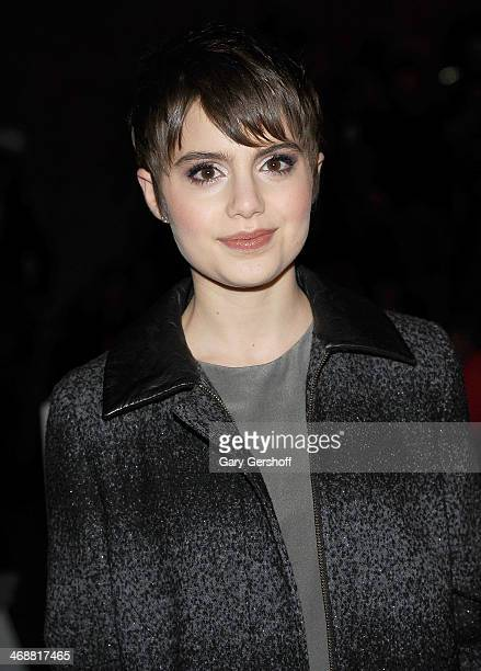 Actress Sami Gayle attends the ICB By Prabal Gurung Show during Mercedes-Benz Fashion Week Fall 2014 at Eyebeam on February 11, 2014 in New York City.