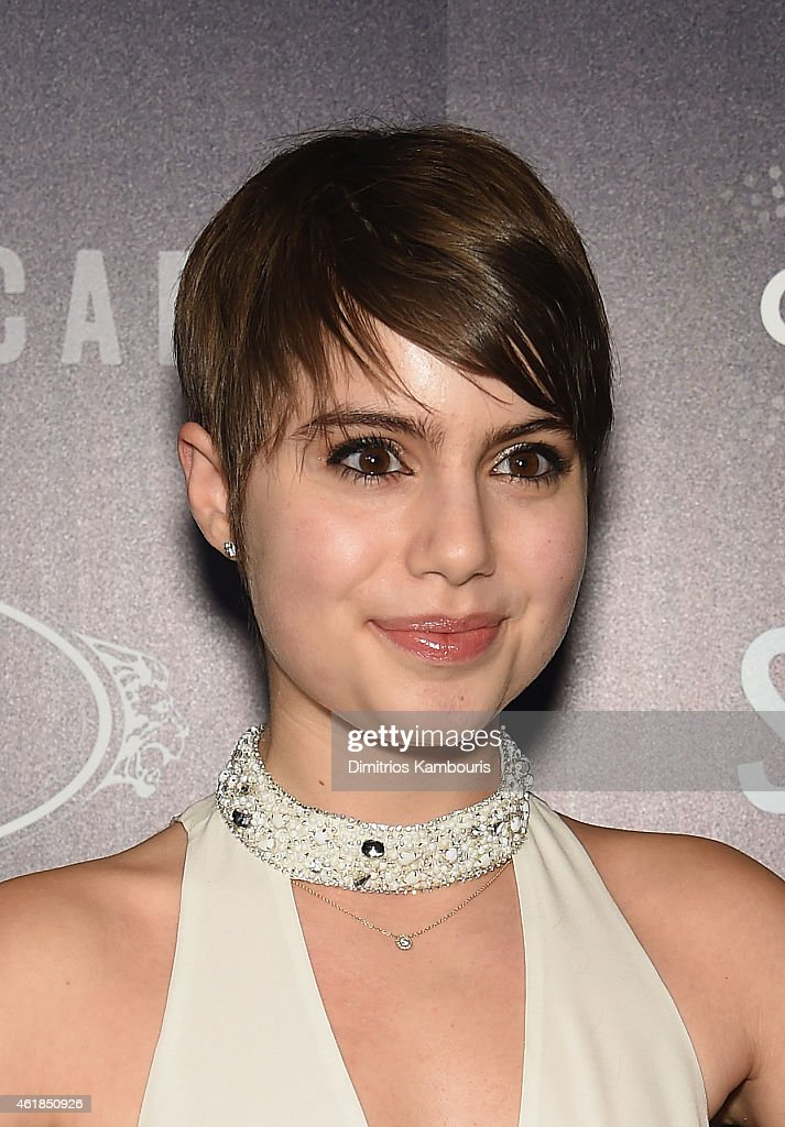 Actress Sami Gayle attends the premiere of the Film Arcade & Cinedigm's 'Song One' hosted by the Cinema Society & Tod's at Landmark's Sunshine Cinema on January 20, 2015 in New York City.