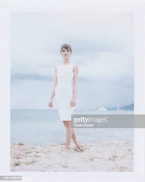 Actress Sami Gayle is photographed for Self Assignment on May 2013 in Cannes France
