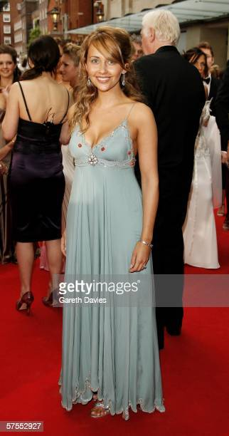 Actress Samia Smith arrives at the Pioneer British Academy Television Awards 2006 at the Grosvenor House Hotel on May 7 2006 in London England
