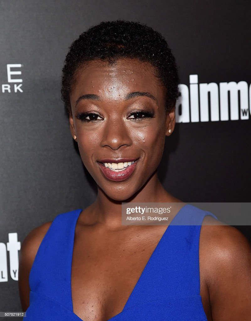Actress Samira Wiley attends Entertainment Weekly's celebration honoring THe Screen Actors Guild presented by Maybeline at Chateau Marmont on January 29, 2016 in Los Angeles, California.