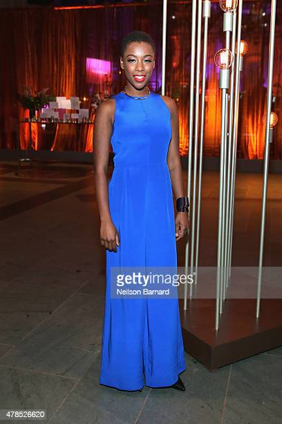Actress Samira Wiley attends Logo's 'Trailblazer Honors' 2015 at the Cathedral of St John the Divine on June 25 2015 in New York City