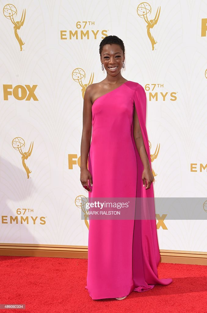 US-ENTERTAINMENT-TELEVISION-EMMYS : News Photo