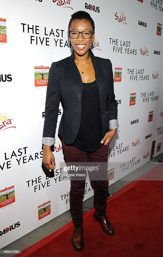Actress Samira Wiley attends the premiere of RADiUS' 'The Last Five Years' at ArcLight Hollywood on February 11, 2015 in Hollywood, California.