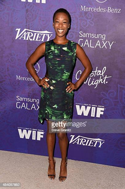 Actress Samira Wiley attends Variety and Women in Film Annual Pre-Emmy Celebration at Gracias Madre on August 23, 2014 in West Hollywood, California.
