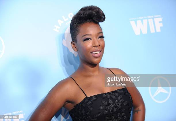 Actress Samira Wiley attends Variety and Women In Film's 2017 preEmmy celebration at Gracias Madre on September 15 2017 in West Hollywood California
