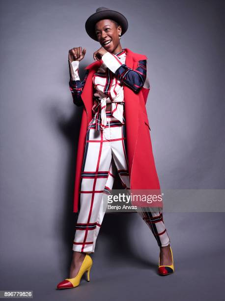 Actress Samira Wiley for WeTheUrban on July 23 2015 in Los Angeles California