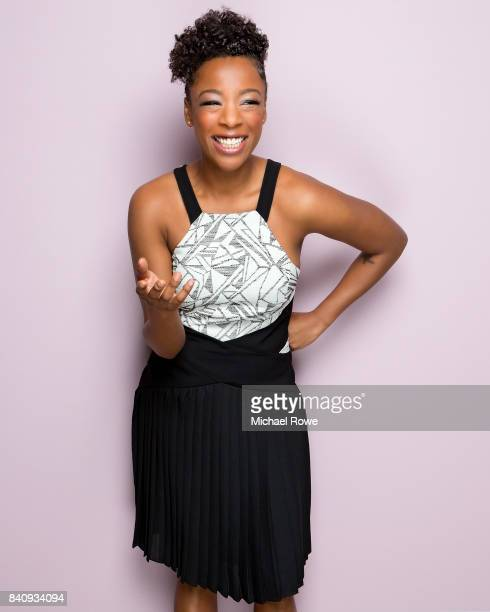 Actress Samira Wiley is photographed for Essencecom on February 23 2017 at Essence's Black Women in Hollywood luncheon in Los Angeles California