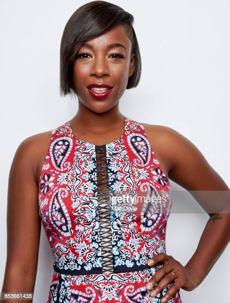 Actress Samira Wiley poses for a portrait at the Tribeca TV festival at Cinepolis Chelsea on September 23 2017