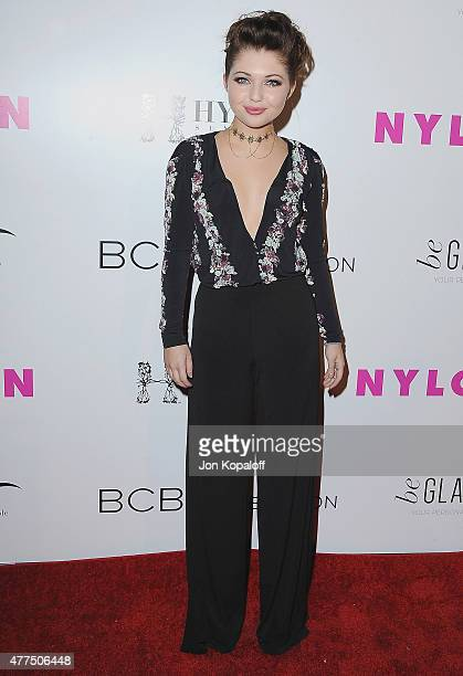 Actress Sammi Hanratty arrives at NYLON Magazine And BCBGeneration Annual May Young Hollywood Issue Party Hosted By May Cover Star Dakota Fanning at...
