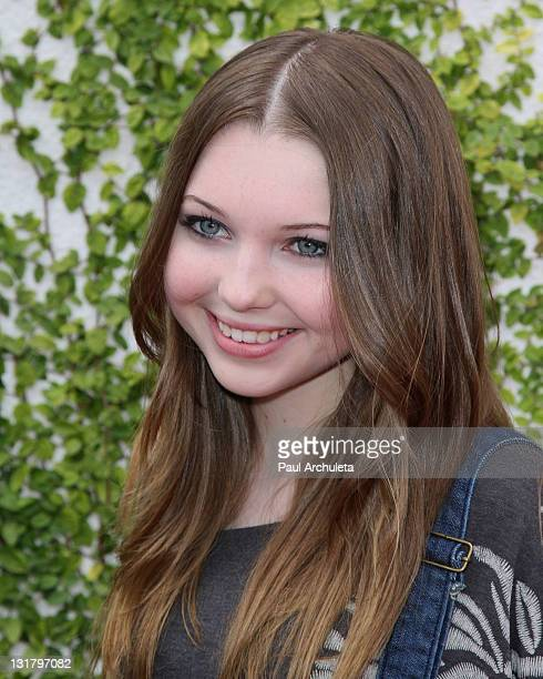 Actress Sammi Hanratty arrives at the Dream Magazine summer kick off and clothing line debut fashion show benefiting Caley Camarillo at The Painted...