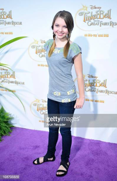 Actress Sammi Hanratty attends PicnicInThePark Premiere Of 'Tinkerbell' at La Cienega Park on August 28 2010 in Beverly Hills California