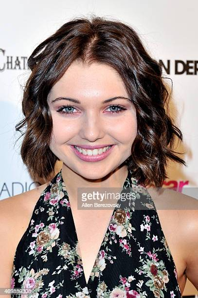 Actress Sammi Hanratty attends Star Magazine's Hollywood Rocks Event with Jason Derulo at The Argyle on April 15 2015 in Hollywood California