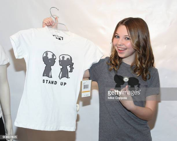 Actress Sammi Hanratty promotes Boy Meets Girl products at Bloomingdale's on September 11 2009 in New York City