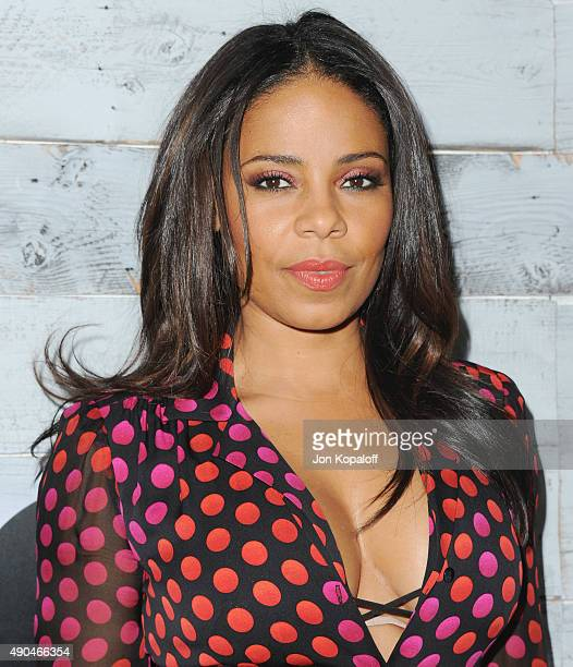 Actress Sanaa Lathan arrives at go90 Sneak Peek at Wallis Annenberg Center for the Performing Arts on September 24 2015 in Beverly Hills California