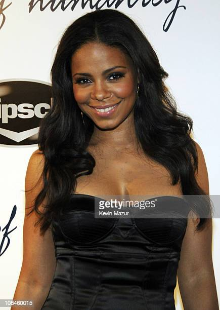 Actress Sanaa Lathan arrives at Prince's After Oscar Fete Hosted by Citizens of Humanity on February 24 2008 in Beverly Hills California **EXCLUSIVE**